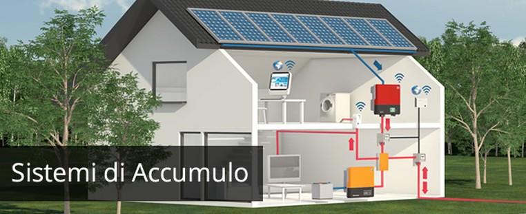Accumulo energia for Impianto fotovoltaico con pompa di calore prezzi